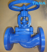 DIN flanged cast iron globe valve